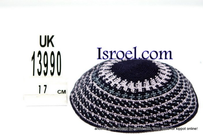 13990-KIPPAH PATTERNS ,kNITTED KIPA, yarmulka kippahs for sale,klipped kippahs, kippah designs,KIPA