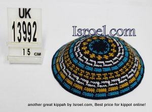 Ravelry: Basic Knit Kippah (Yarmulka) In Reverse Stocking Stitch