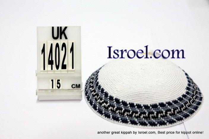 14021-CHEAP KIPPAHS,DISCOUNT KIPPOT ,KNITTED KIPA, yarmulka kippahs for sale, kippah designs,KIPA