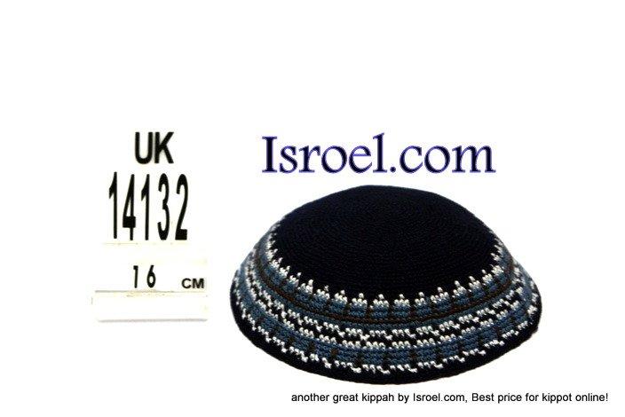 14132-CHEAP KIPA,DISCOUNT KIPPOT,KNITTED KIPA, yarmulke kippahs for sale,designs A KIPPAH designs