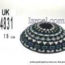 14831-CHEAP KIPA,DISCOUNT KIPPOT,KNITTED KIPA, yarmulke kippahs for sale,designs A KIPPAH designs