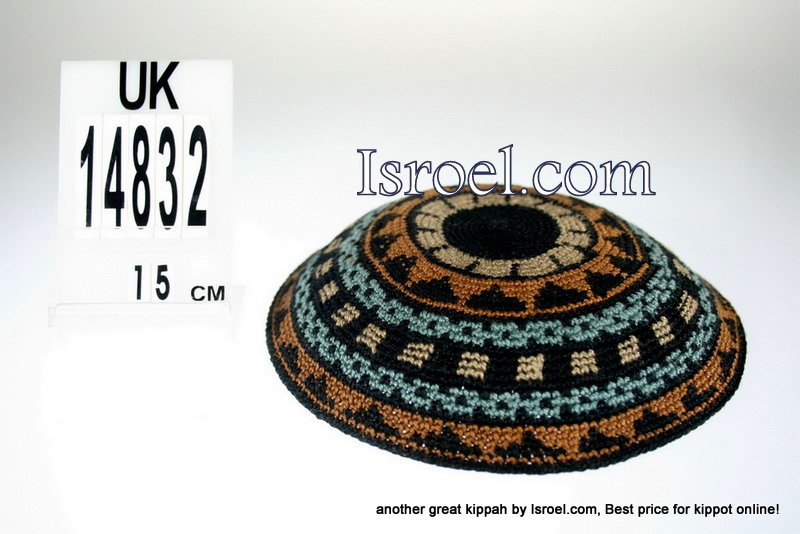 14832-CHEAP KIPA,DISCOUNT KIPPOT,KNITTED KIPA, yarmulke kippahs for sale,wedding A KIPPAH designs