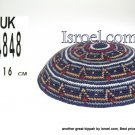 14848-knitted kippahs, kippahs for weddings, kippahs,kippa, kippot, cheap kippahs,bar mitzvah kippah