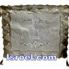 UK60145 - CHALLAH COVER BORDER LACE, Isroel.com best judaica store online
