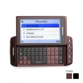 T5000 Dual Card Quad Band TV WIFI QWERTY 3.5 Inch Touch Screen Cell Phone(2GB TF Card)(SZ09890070)