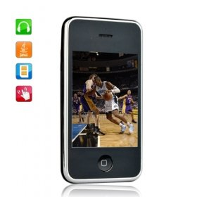 Sciphone I9 Dual Card Quad Band JAVA Touch Screen Cell Phone Black