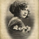 VINTAGE GIRL Digital Image Transfer No. 22