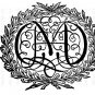 Vintage Altered, Ephemera, Iron On, Digital Image Transfer Letter M No.6