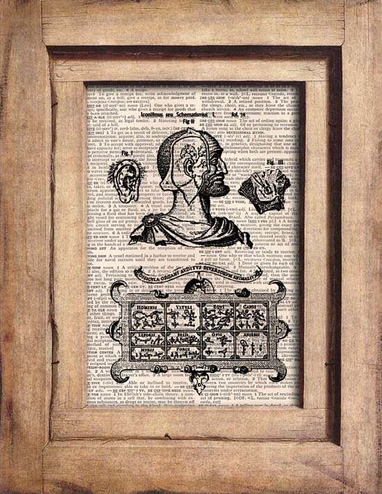 Vintage Anatomical Dictionary Page Print 0052