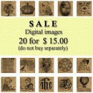 SALE No.1 Buy 20 Images for 15 Dollars