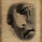 TEARS, Digital Download, Ephemera, Altered, Image No.147