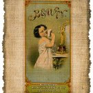 Vintage, Advertisement, Illustration Altered, Ephemera, Digital Image No. 255