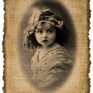 VINTAGE Girl, Digital Download, Ephemera, Altered, Image No.373