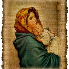 Vintage, Madonna Of The Streets, Altered, Ephemera, Iron On Digital Image No.438