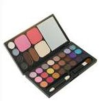 Cosmetic 28-Color Eye Shadow + Rouge + Face Powder Makeup Kit