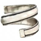 Spiral Bangle Tribal Bracelet Cuff Antique Silver Bollywood Ethnic Belly Dancer Arm Wrap Jewelry