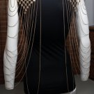 Double Shoulder Body Chain Gold Draping Chains Harness Boho Avant Garde Indie