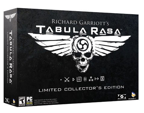 Tabuala Rasa Limited Collector's Edition