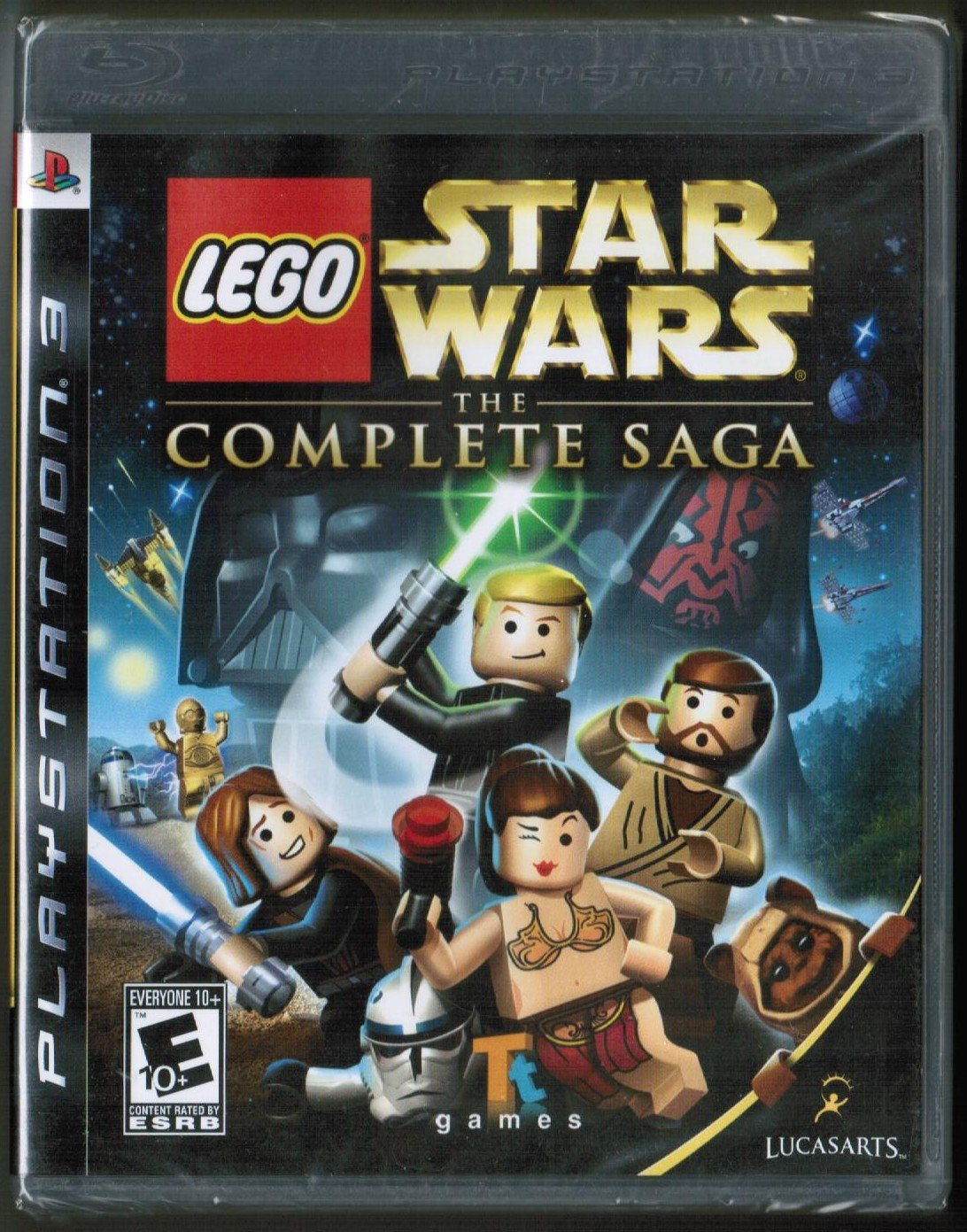 Lego Star Wars: The Complete Saga -  PlayStation 3 PS3 (2007)