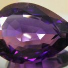 Huge, Genuine Pear Shaped Bolivian Amethyst