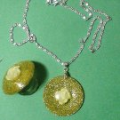 Resin jewelry set  # 326