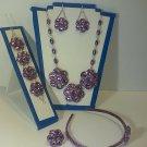 porcelain jewelry set #476
