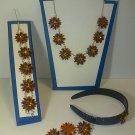 porcelain jewelry set #485