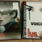 The Broken and Voices ( After Dark Horrorfest III ) BRAND NEW with slipcovers