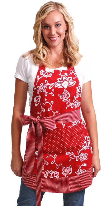Flirty Aprons Women's Sassy Red Apron