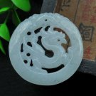 good luck Amulet Hand carved AAA Grade Natural Green jadeite jade carved Horse charm Pendant