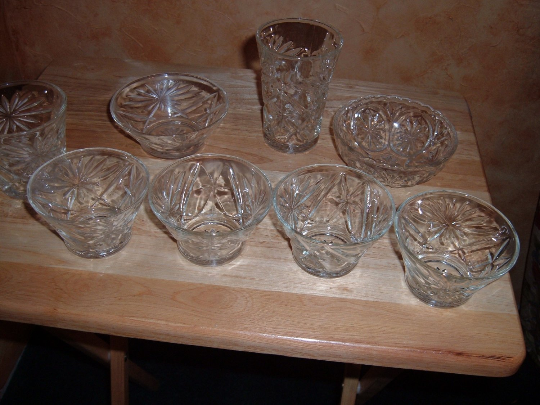 Hocking custard cups