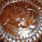 Carnival Glass Powder Bowl