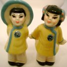 Vintage Ceramic Arts Studio Salt And Pepper Shakers