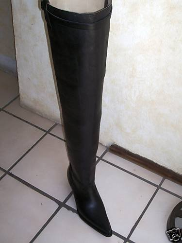 COWBOY BOOTS 37 INCHES TALL SHAFTS CUSTOM MADE BOOTS...