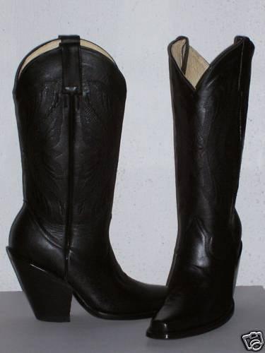 "cowboy boots 4"" heels SQUARE TOE14""tall men SIZE  8"