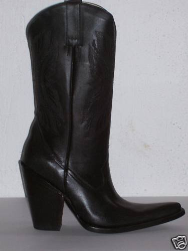 cowboy boots MEN SIZE 6.5 REAL HIGH  5 INCHES HEELS