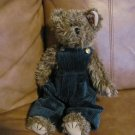 1993 Ty Collectible Grover Bear 15&quot; Brown Tan Dark Green Corduroy MWMT