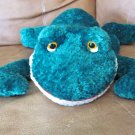 Russ Berrie Friggles Green Plush Frog 15&quot; #20832