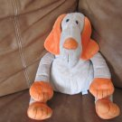 "Old Navy Puppy Dog 16"" Long Snout Orange Ears Paws Nose Black Button Eyes"