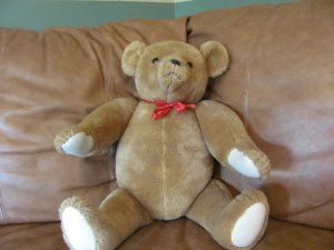 "Big 25"" Smithsonian Teddy Bear 1987 Replica Rare Collectible Jumbo Plush"