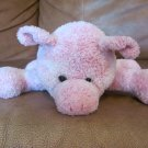 2002 Mary Meyer Sweet Rascals Pink White Curly Tail Piglet Pig Plush 9&quot;