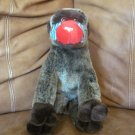2001 Ty Mandril Baboon Cheeks Monkey Beanie Buddies Collection Plush Lovey 13""