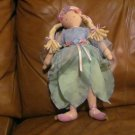 "HTF Pottery Barn Kids Fairy Princess 15"" Plush Doll 2003 North American Bear Company"