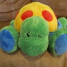 Baby Gund Tutti Frutti 58325 Multi Color Turtle Lovey Plush 10""