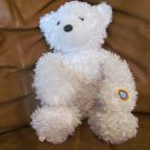 Color Kinetics Cepia Glo E White Nightlight Teddy Bear Lovey Plush 16""