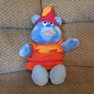 Vintage 1985 Fisher Price Walt Disney Productions Tummi Gummi Lovey Plush Gummi Bears Show 17""