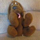VHTF Antique Vintage California Stuffed Toys Made USA Brown Wire Arms Puppy Dog Lovey Plush 16.5""
