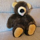 Vintage 1992 Dakin Brown Teddy bear Lovey Plush 19""