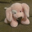 Baby Gund 58374 Pink Floppy Spotted Spunky Puppy Dog Lovey Plush