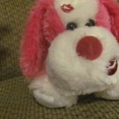 WT Aurora 07540 Pink Pucker Up Puppy Dog Lovey Plush